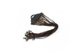 Шнурок - резинка для  окулярів коричневий