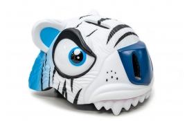 """Шолом СIGNA """"Білий тигр"""" (3-8років) білий синій"""