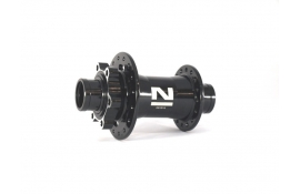 Втулка передня Novatec DH61SB-HL 32 отвори чорна