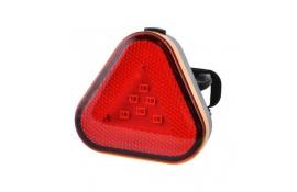 Мигалка задня Baisk BSK-2288 micro USB, Waterproof IPx5