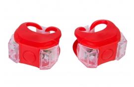 Комплект мигалок BC-RL8002 біле+червоне світло  червоний